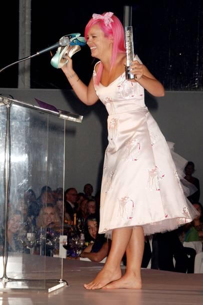 2008: Lily Allen's Exit