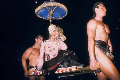 Moschino's Roman empresses