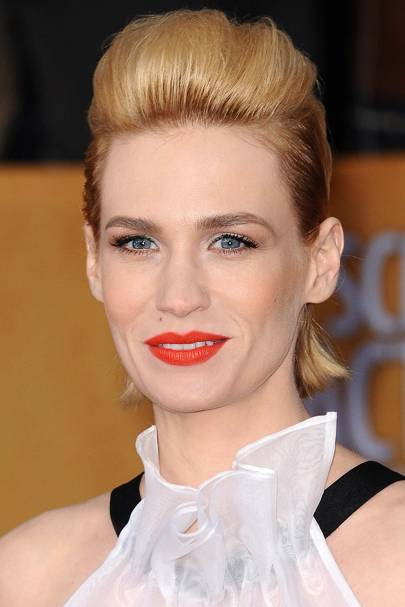 Quality Quiff - January Jones