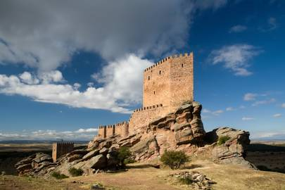 Spain: Zafra Castle,Guadalajara