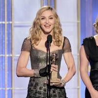 Madonna at the Golden Globes 2012