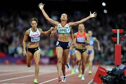 Jessica Ennis-Hill's 2012 triumph