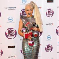 Lady Gaga at the MTV EMAs 2011