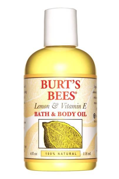 Burt's Bees Lemon Vitamin E Body Bath Oil, £9.99 for 118ml
