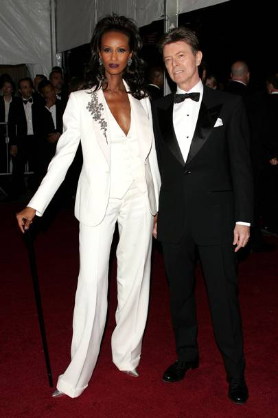 Iman and David Bowie, 2007