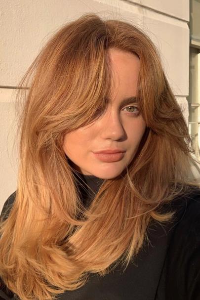 Warm Amber hair