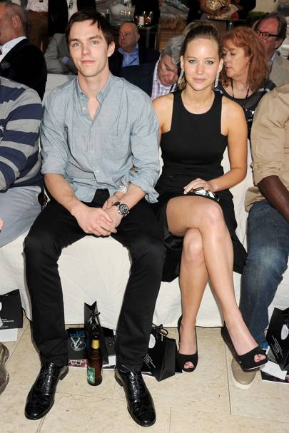 Jennifer Lawrence & Nicholas Hoult