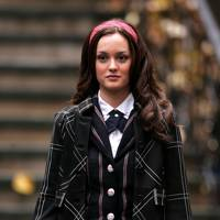 The checked blazer + headband