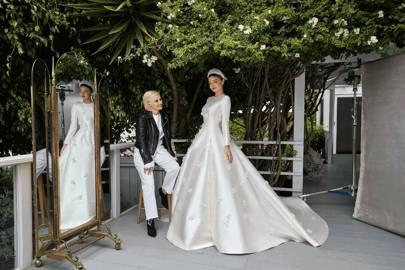 Miranda Kerr Wedding Dress Dior Glamour Uk