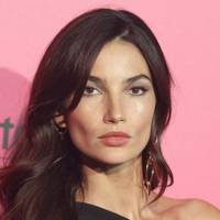 Lily Aldridge's side-swept curls