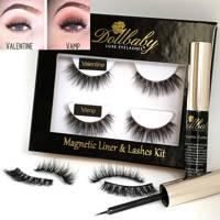 Celebrity Eyelashes - No-Glue-Fast and Fabulous by Dollbaby