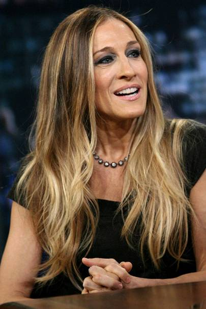 DO #1: Sarah Jessica Parker's long ombre locks - December