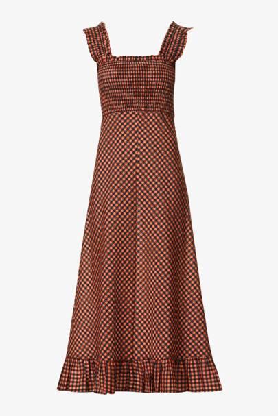 The Ganni Seersucker Dress