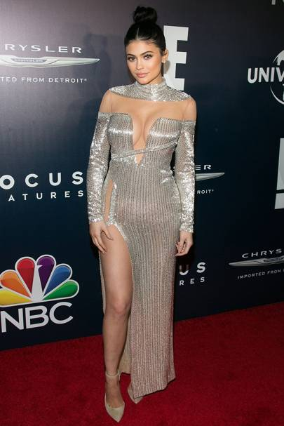 Kylie Jenner at the Golden Globes 2017 afterparty