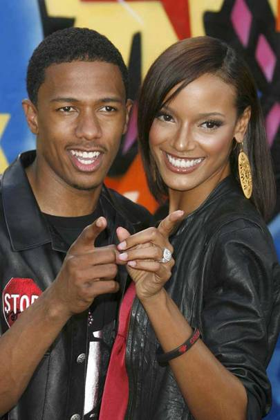Nick Cannon and Selita Banks