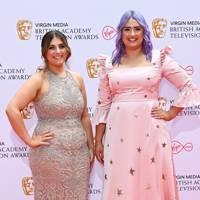 BAFTA TV Red Carpet: Ellie and Izzie Warner