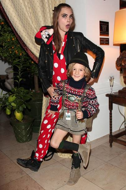 Cara Delevingne and Hudson