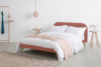 Made.com Black Friday deals 2020: the pink velvet double bed