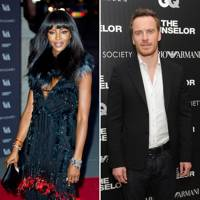 Naomi Campbell and Michael Fassbender