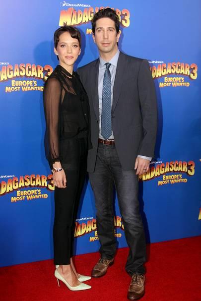 David Schwimmer & Zoe Buckman