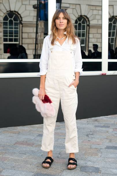 Shirts add a fresh edge to dungarees
