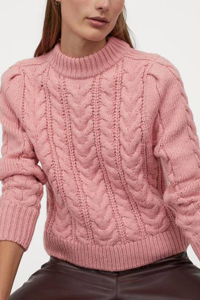 Best cable knit jumper on sale