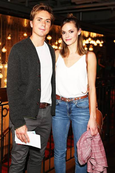 Joe Thomas & Hannah Tointon