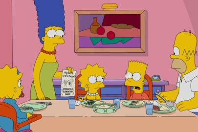 live episode simpsons homer answers fans questions glamour uk