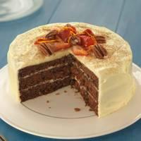Cinnamon & Orange Carrot Cake
