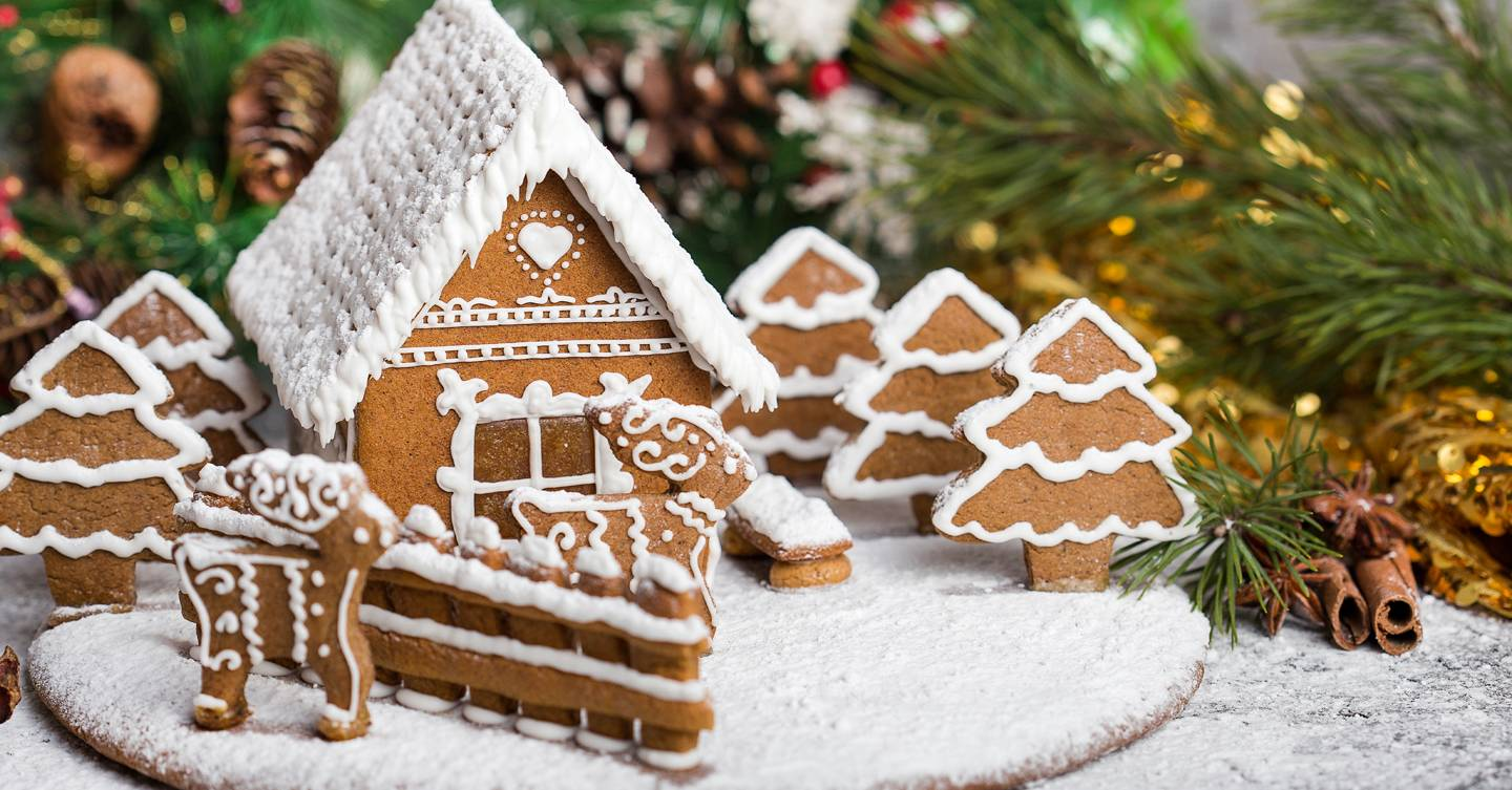 Gingerbread Houses - cover