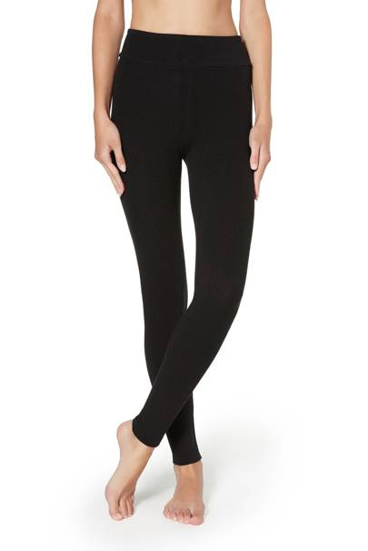 Best black leggings with cashmere