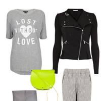 Look 1: Grey Daze
