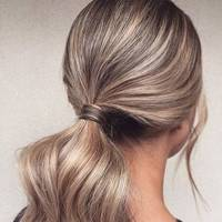 Full-body ponytail