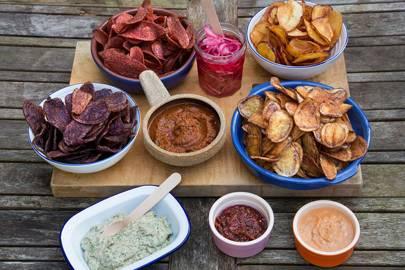 The unusual snack: HipChips, Soho