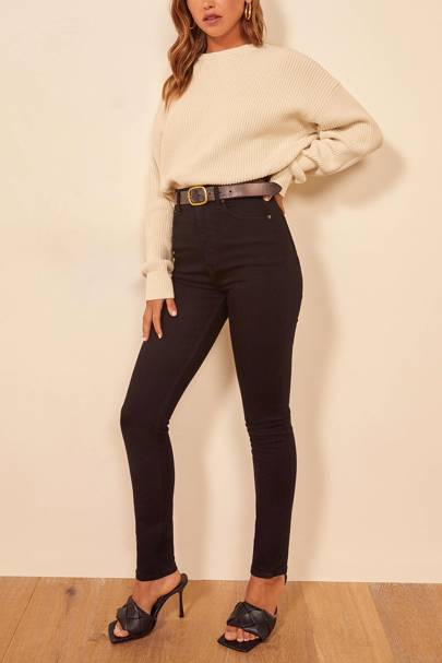 Best high-waisted jeans: Reformation