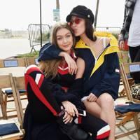 Gigi Hadid with sister Bella