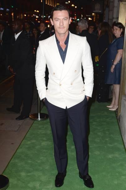 1. Luke Evans (New Entry)