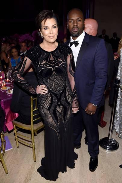 Kris Jenner & Corey Gamble