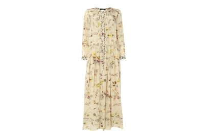 5af4feb401 Long-sleeves and high-necks add instant prairie chic vibes to any maxi dress .