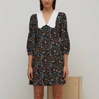 NOBODY'S CHILD AT M&S - COLLARED MINI DRESS