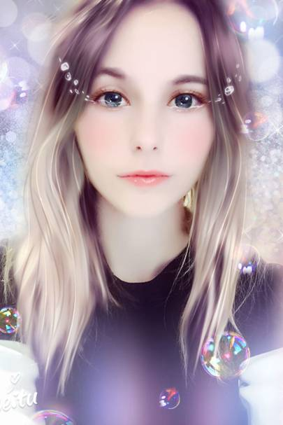 Kawaii girl snapchat