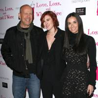 Demi Moore & Bruce Willis & Rumer Willis