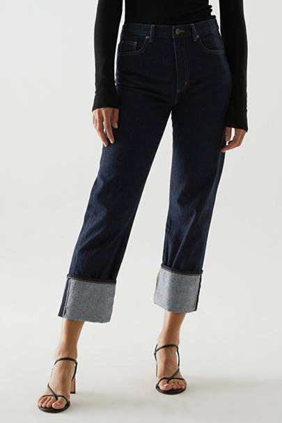 Best turn-up jeans for women