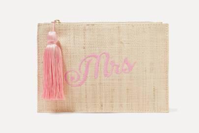 Best bridal clutch bag for beach weddings