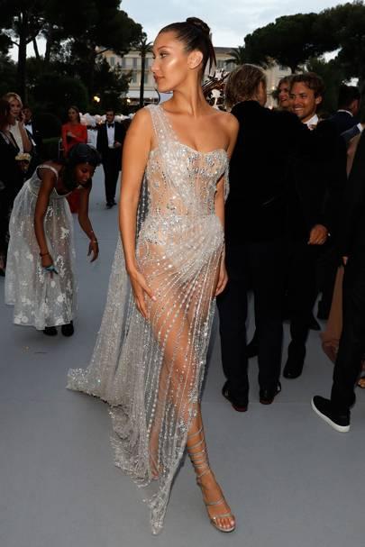 Bella Hadid wearing Ralph & Russo