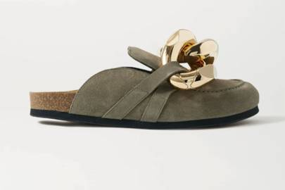 UGLY SHOES: SUEDE SLIPPERS