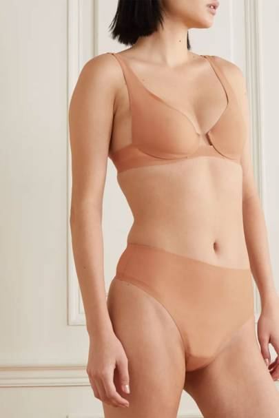 Skims Review: the high-waist thong