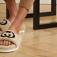 Best women's slippers UK: Gucci slider slippers