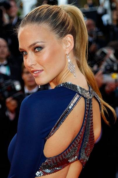 DO #11: Bar Refaeli's slick ponytail at Cannes 2011 – May