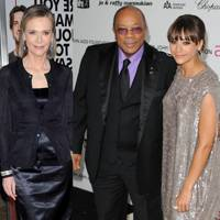 Rashida Jones & Quincy Jones & Peggy Lipton